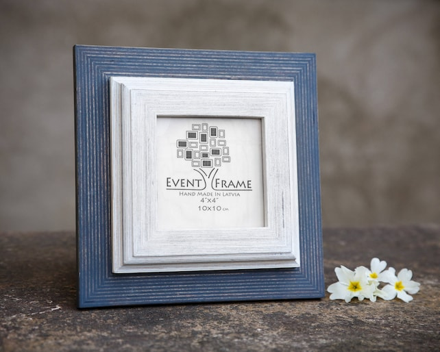 White Picture Frame Wooden Photo Frame Rustic Frame Sizes Etsy