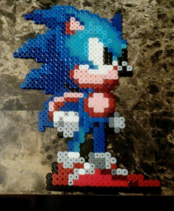 Sonic The Hedgehog Pixel Art Sonic