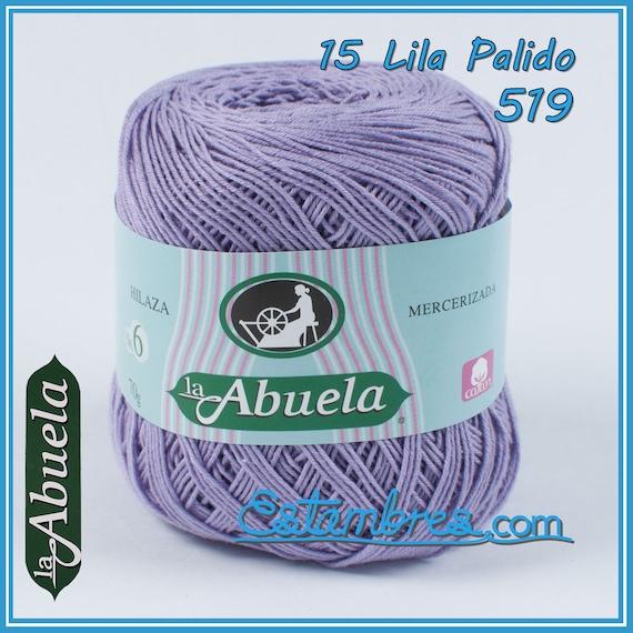 Abuela No.6 [70grs] - Soft 100% Mercerized Cotton Omega Yarn