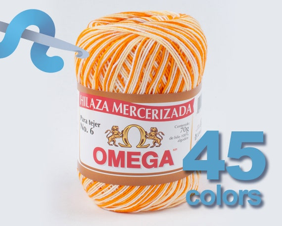 Hilaza Omega No. 6 Hilaza No. 6 100% Algodon Mercerizado  93f6dc95da387