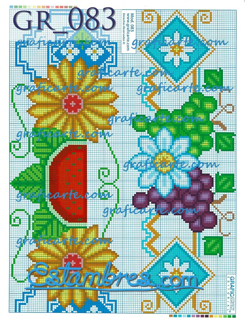 GR/_071-140 Crewel Embroidery Creative Needlecraft Crewel | Embroidery Pattern Embroidery Arts Crewel Stitch Graficarte Hoja 25
