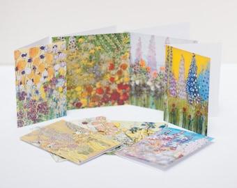 Fine Art Batik Greetings Cards (Pack of 8)
