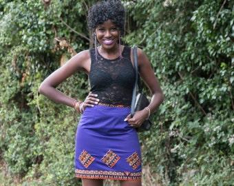 mini skirt, women's skirt, African print skirt, plain skirt, skirt, simple skirt, casual skirt