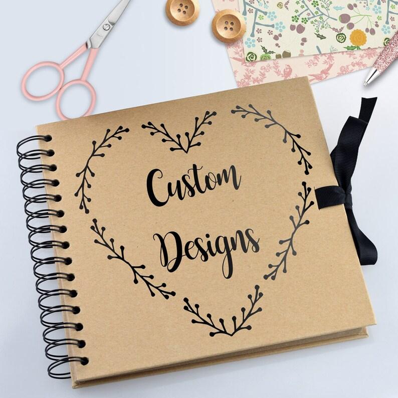 Personalised Scrapbook / Photo Album Custom Designed image 0