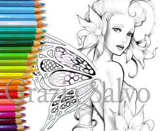 Printable Colouring Page For Adults N 3 From The Book Creature Incantate Pdf File