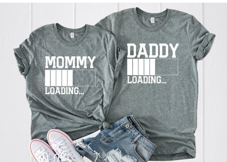 74e95df92fcb8 Pregnancy announcement shirts pregnancy announcement couples | Etsy