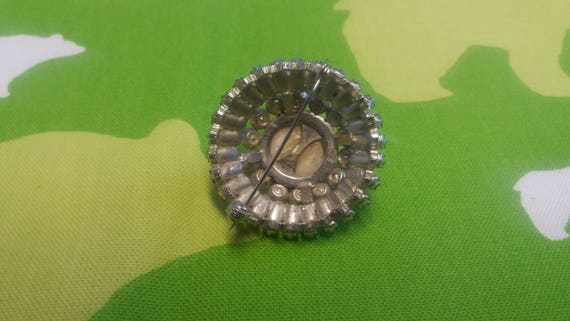 Vintage Snowflake Gothic Style Brooch Kitsch Chic… - image 2