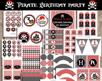 Pirate Birthday Party Pack-Digital