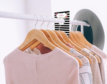 Printed Clothing Rack Dividers