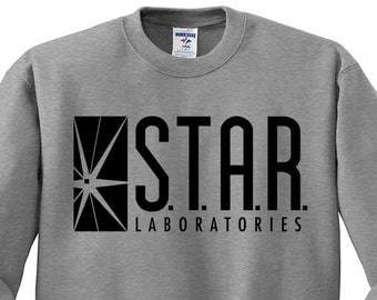 Star Labs Sweatshirt - STAR Laboratories, The Flash TV, Star Labs Shirt, Star Labs Sweater, Flash Shirt