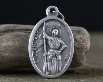 Saint Joan of Arc Medal - Patron of of Women, Courage and Bravery