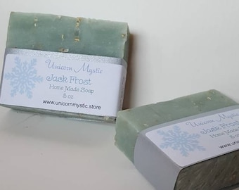 Jack Frost All Nautral Cold Processed Homemade Vegan Bar Soap