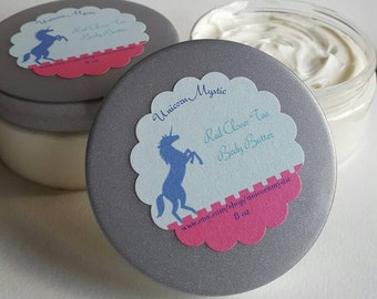 All Natural Red Clover Tea Body Butter Creme Ultra Premium Luxuriously Moisturizing Spa Whipped Body Butter Fluffy Cream