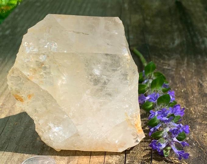 Self Mined Quartz // N. Carolina Quartz Crystal // Self collected