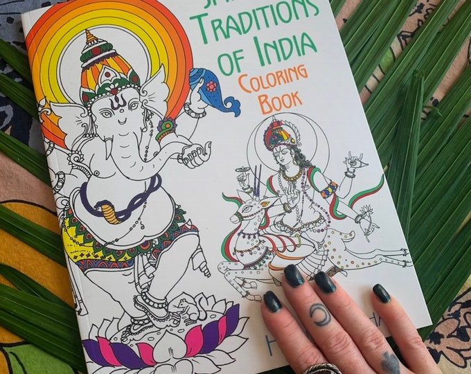 Traditional Traditions of India coloring book