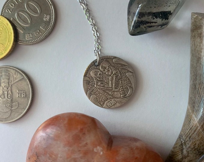Eternal Connection Coin Necklace