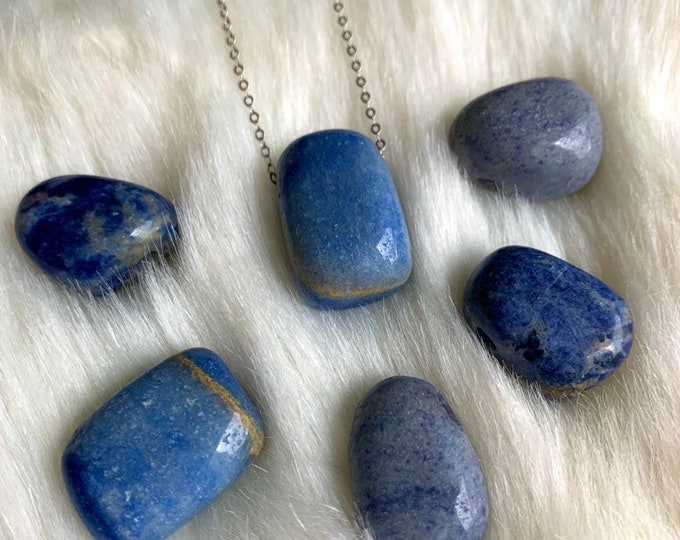 SODALITE // Crystal Necklace // Sterling Silver // Metaphysical Jewelry