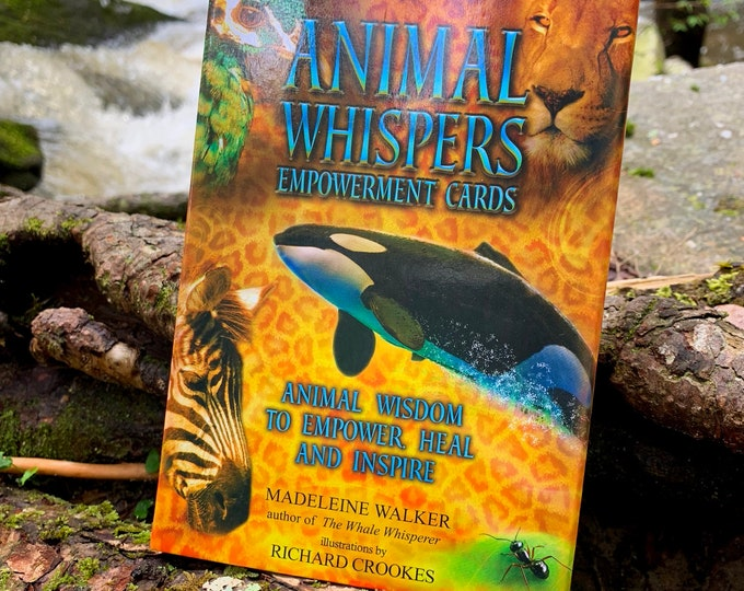Animal Whispers Empowerment Cards, Oracle Deck