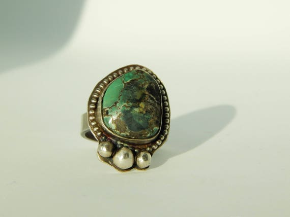 Damele Turquoise and Navajo Pearl Sterling Silver