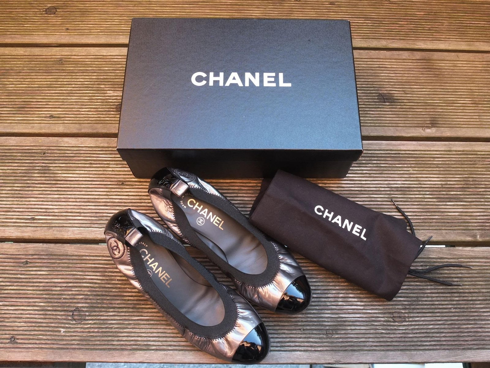 chanel ballet flats · stretch ballerina · cap toe pumps · evening shoes · pumps · sandals · heeled ballerines · ballerina