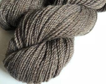 50/50 Light Chocolate Alpaca/Merino wool, 2ply worsted
