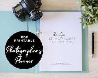 The EPIC Studio Planner for Photographers - Photographer Planner, PDF printable