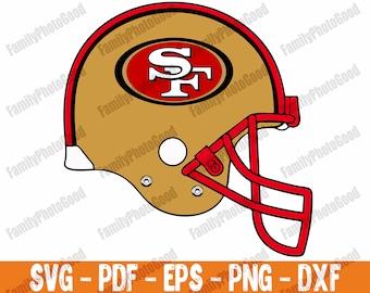 Love 49ers Svg San Francisco 49ers Svg Sf Logo Svg Png Dxf Pdf Etsy