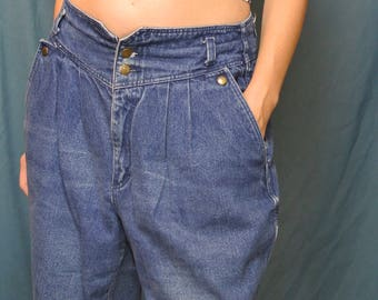 Vintage Jeans French Navy Pants