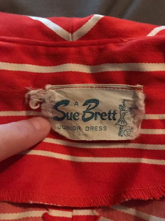 Scooter Dress A Sue Brett Junior Dress /Shift Dre… - image 8