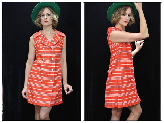 Scooter Dress A Sue Brett Junior Dress /Shift Dre… - image 1