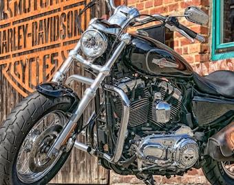 SUZUKI GSXR750 Motorbike Koolart Chrome Keyring Picture Both Sides