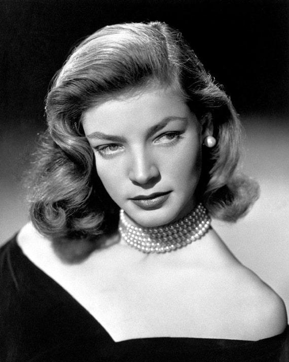 Lauren Bacall Film Movie Star 10x8 Glossy Black /& White Photo Print Poster
