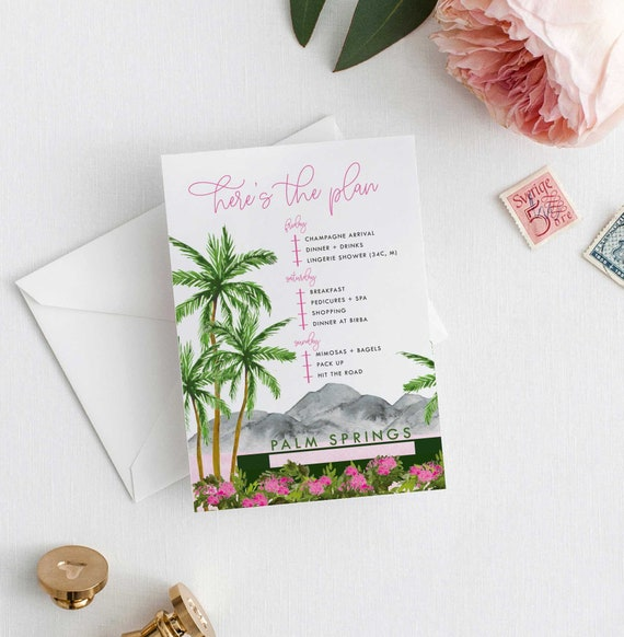 Palm Springs Before The Ring Bachelorette Itinerary