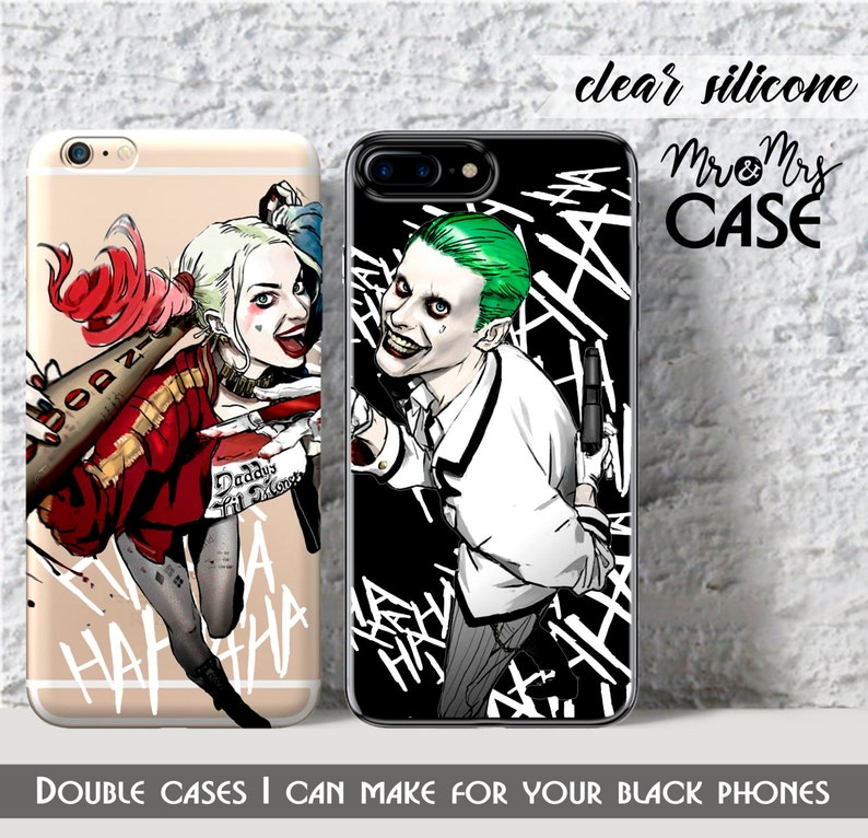competitive price ba13e fbca4 7Plus-iphone 6-Harley Quinn&Joker-Double cases for iphone 5c-protect for  iPhone 6s-iphone 4 cover-iPhone 5s-iphone 7 plus case-iphone 7 case