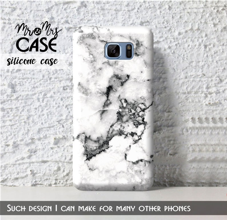 S7 Edge White marble case-Galaxy S7 Active-Grand Prime-Samsung J3  2016-Samsung S4 Active-cover for S Advanse-Galaxy S6 Edge-Samsung J1 mini