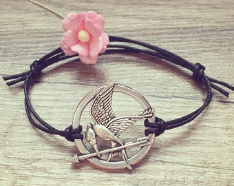 Bird bracelet in black silver, stainless steel, blogger, vintage, statement, bracelet