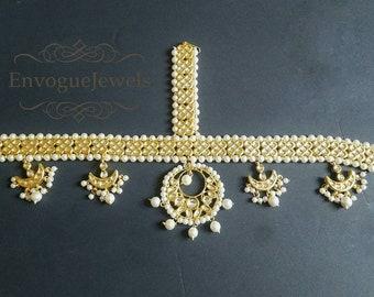 Sabyasachi inspired Matha Patti, Tikka, Headpiece, Tikka jewelry, Kundan jewelry, Pakistani jewelry, Indian bridal Jewelry, Matha Patti.
