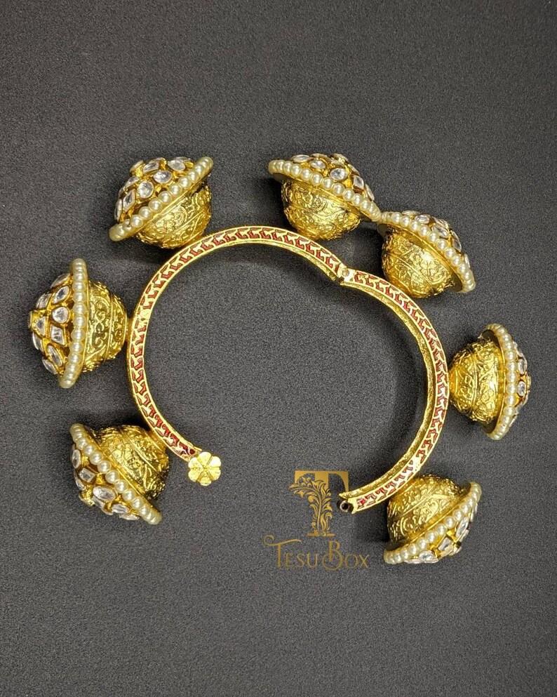 pemium quality Kundan kada Indian boho Kundan brass kada Kundan Jewelry Pakistani wedding jewelry Indian bridal bangle...