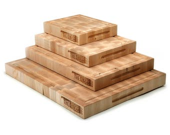 End Grain Maple Cutting Board - TheKitchenBlock.com