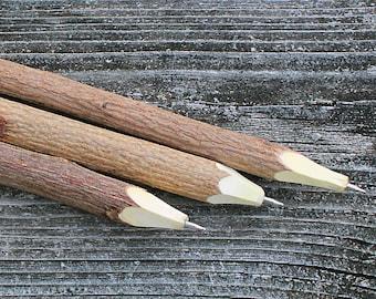 Handmade Rustic Wooden Natural Twig Pens