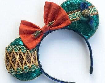 Galactic Princess MOUSE EARSLeia Inspired Mouse EarsMay the FourthResistance Princess Ears