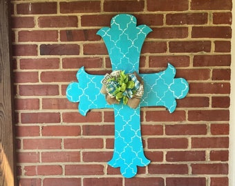 Cross Door Hanger // Door Hanger // Easter Door Hanger // Cross
