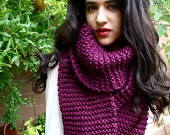 VELVET* // Oversize Chunky Scarf // Huge Knit Scarf // Extra Wide // Extra Long // Hand Knit