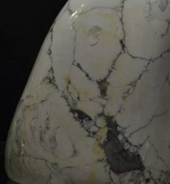 Forme libre de magnésite, minéraux minéraux minéraux africains, poli magnésite forme libre, spécimen minéral, magnésite, spécimen d'affichage de base, minéraux rares f7710f