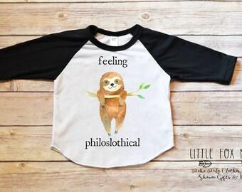 2004df436e62 Sloth Shirt, Sloth Gift, Boho Baby Clothes, Sloth Outfit, Toddler Sloth  Shirt, Toddler Shirt, Baby Girl Clothes, Toddler Girl Clothes, Sloth