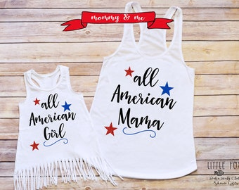 26040d8d680d Mommy & Me Outfit, Mommy and Me, Memorial Day Shirt, Fourth of July Shirts,  4th of July Shirt, Baby Girl Clothes, 4th of July Girl