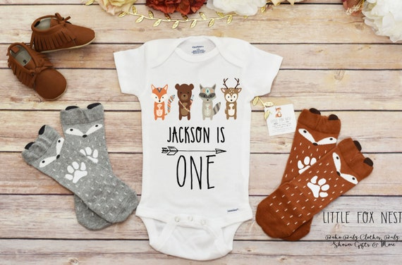 Baby Boy Clothes Toddler Birthday OnesieR