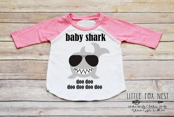 Baby Shark Daddy Mommy Birthday Shirt