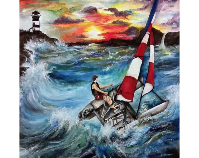 """""""Sailing into the Sunset"""""""