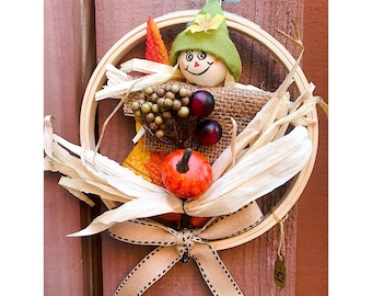 Scarecrow Wreath.